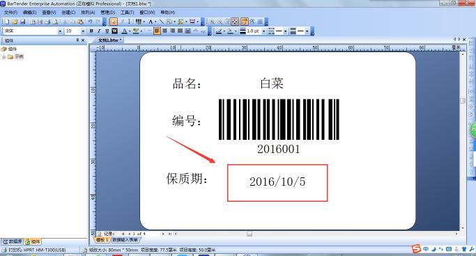 汉印Excel数据导入BarTender操作范例说明  第20张