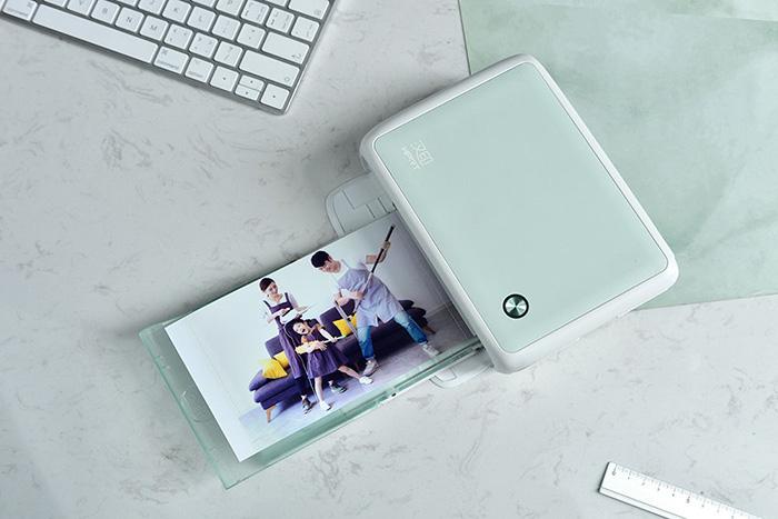 汉印手机照片打印机CP4000L,暑期炸街约起来!