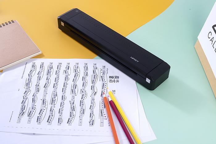 拥有汉印手机打印机MT800,暑期作业没烦恼