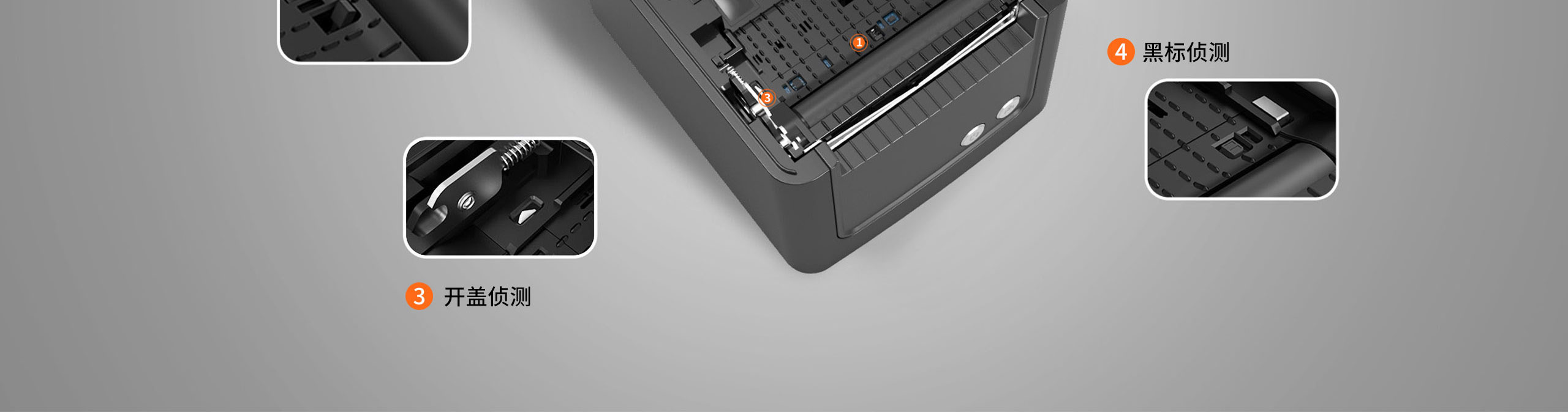 TP809热敏票据打印机,黑白两色可选  第27张